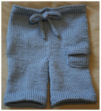Crochet Free Girl Pants Pattern