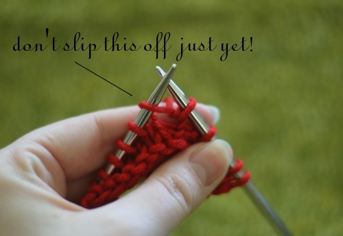 Bella Knitting Increase Tutorial The K Fab