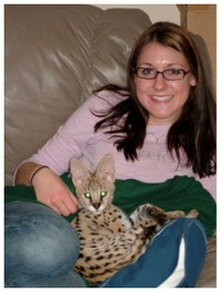 Emily_and_serval_1